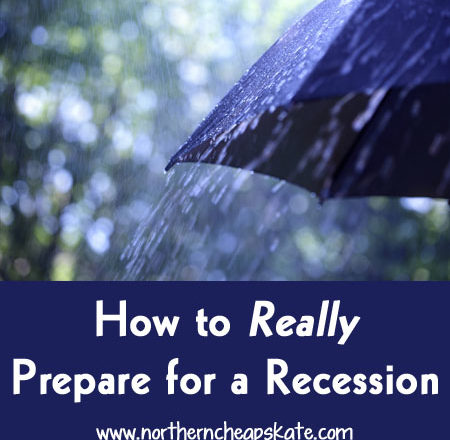 How to Really Prepare for a Recession