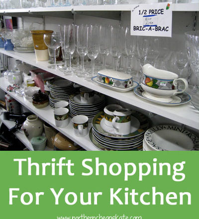 Thrift Shopping For Your Kitchen