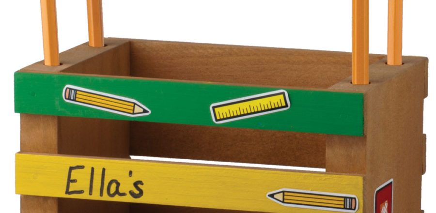 Free Home Depot Kids Workshop: Mini-Crate Pencil Holder