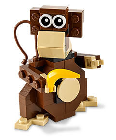 Free LEGO Mini Build: LEGO Monkey