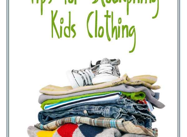 Tips for Stockpiling Kids Clothing