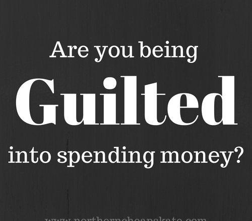 Are You Being Guilted Into Spending Money?