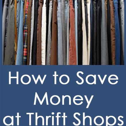 How to Save Money at Thrift Shops