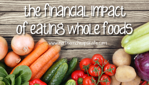 The Financial Impact of Eating Whole Foods