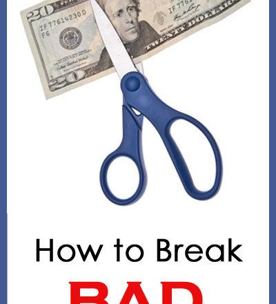 How to Break Bad Spending Habits