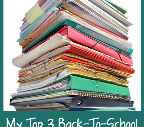 My Top 3 Back-To-School Organization Tools
