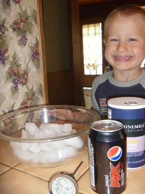 Fun Science Experiments for Preschool Kids: Cold Pop Challenge