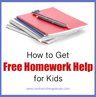 How to Get Free Homework Help for Kids