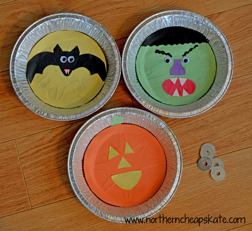 Simple Halloween Games You Can Make- Washer Toss