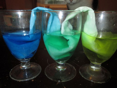 Fun Science Experiments for Preschool Kids: Yellow and Blue Make Green