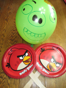 Angry Birds Birthday Party Party Games