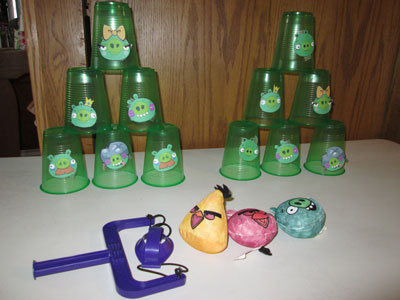 Angry Birds Birthday Party Game