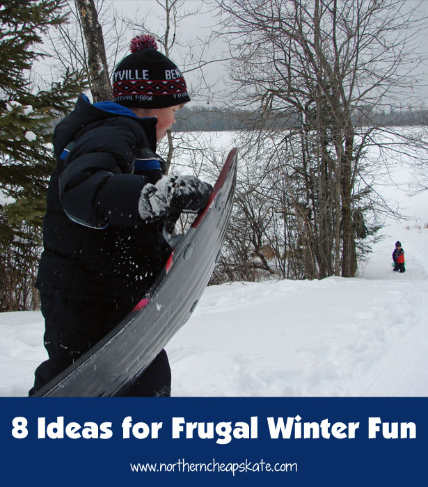 8 Ideas for Frugal Winter Fun