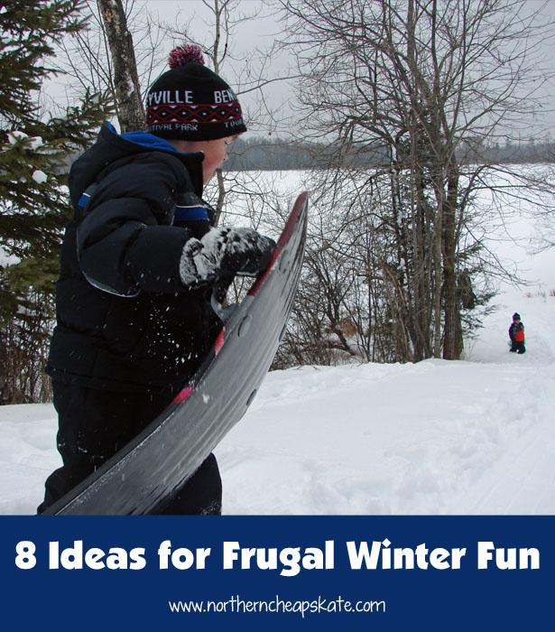 8 Ideas for Frugal Winter Fun