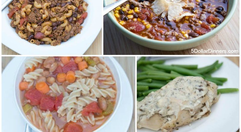 Make 20 Slow Cooker Meals in Advance for Less Than $150