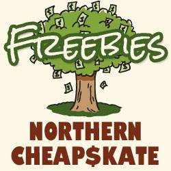 Northern Cheapskate Freebies