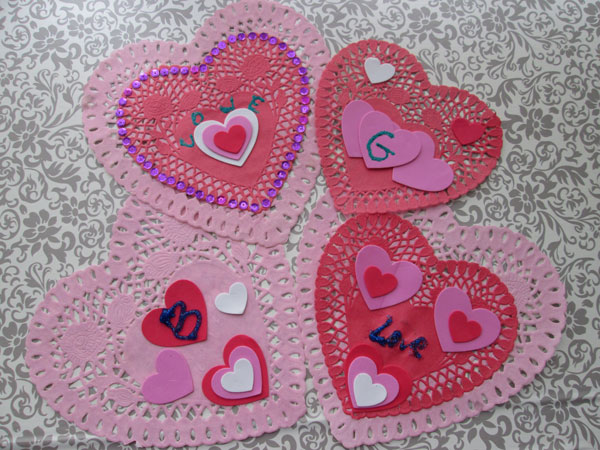 5 Simple Heart Valentine Ideas You Will Love:Valentine Doilies