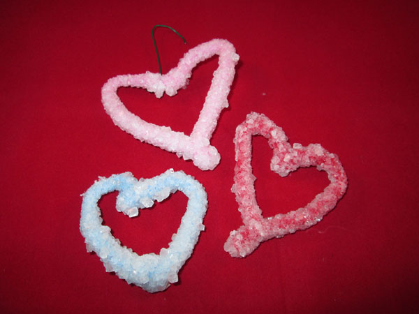 5 Simple Heart Valentine Ideas You Will Love: Crystal Hearts