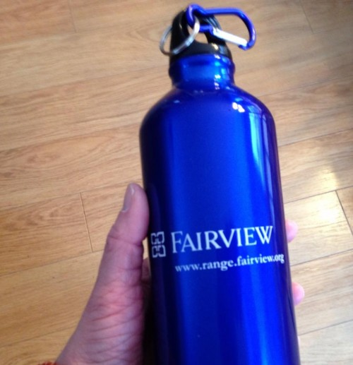 new water bottle