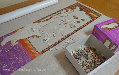 DIY Puzzle Mat