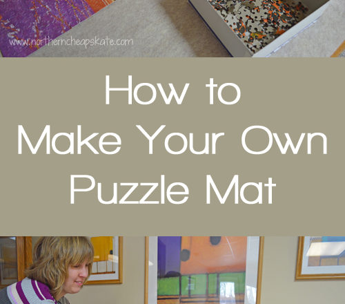 How to Make Your Own Puzzle Mat