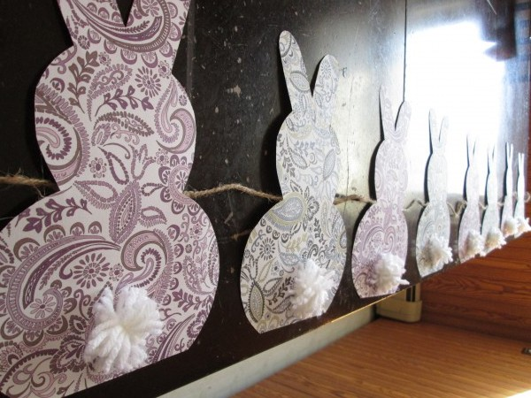 Easy Bunny Garland Project