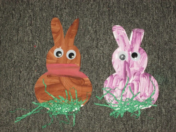 Kids Easter Bunny Projects