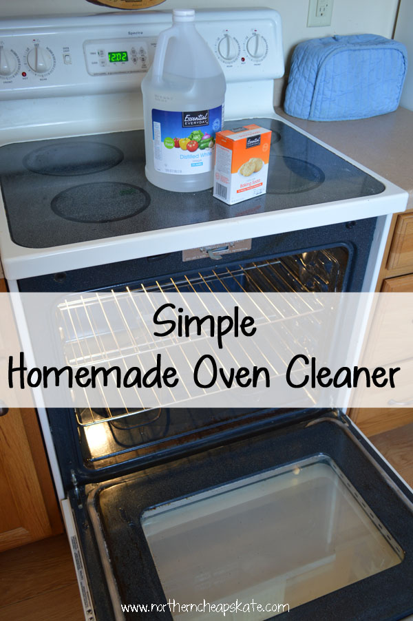 Simple Homemade Oven Cleaner