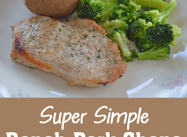 Super Simple Ranch Pork Chops Recipe