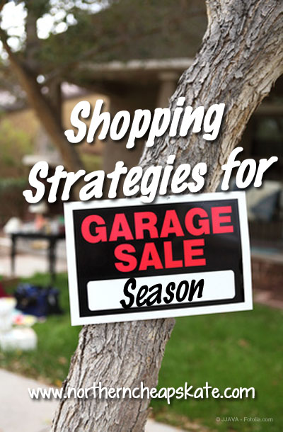 Shopping Strategies for Garage Sale Season