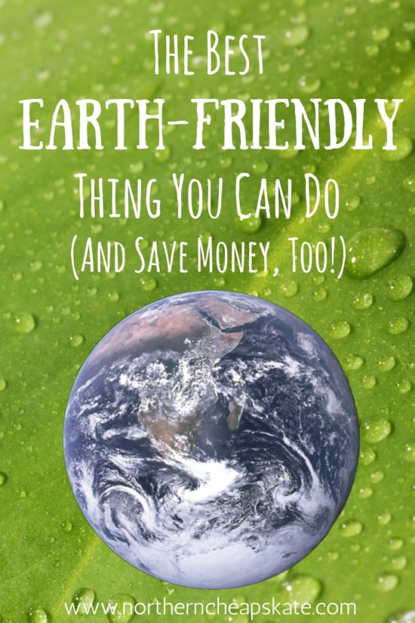 The Best Earth-Friendly Thing You Can Do