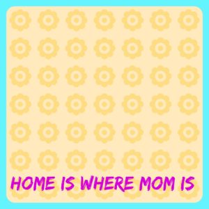 Easy Kid Projects for Mother's Day: Home Art Template