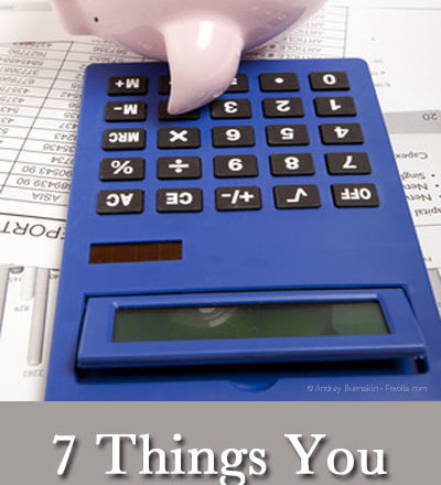 7 Things You Might Miss When Budgeting