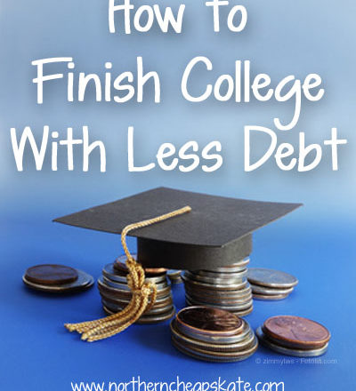 How To Finish College With Less Debt