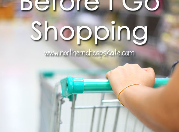 7 Things I Do Before I Go Shopping