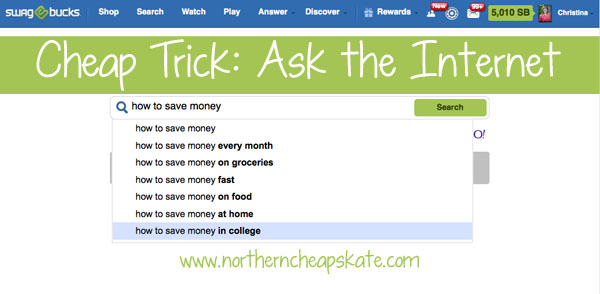 Cheap Trick: Ask the Internet