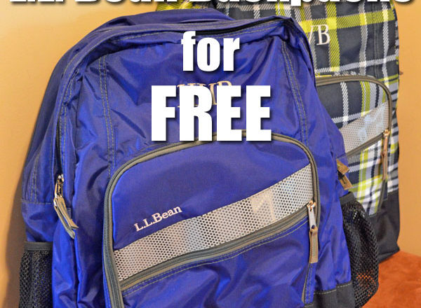 How I Got Two L.L. Bean Backpacks For Free