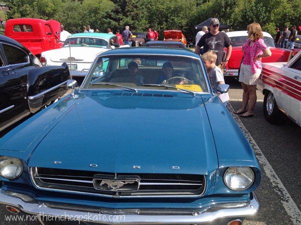 Frugal Summer: Visiting the Car Show