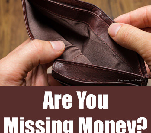 Are You Missing Money?