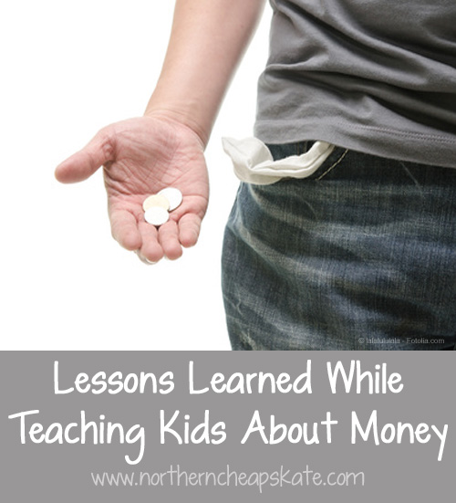 Lessons Learned While Teaching Kids About Money