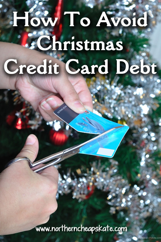 How To Avoid Christmas Credit Card Debt
