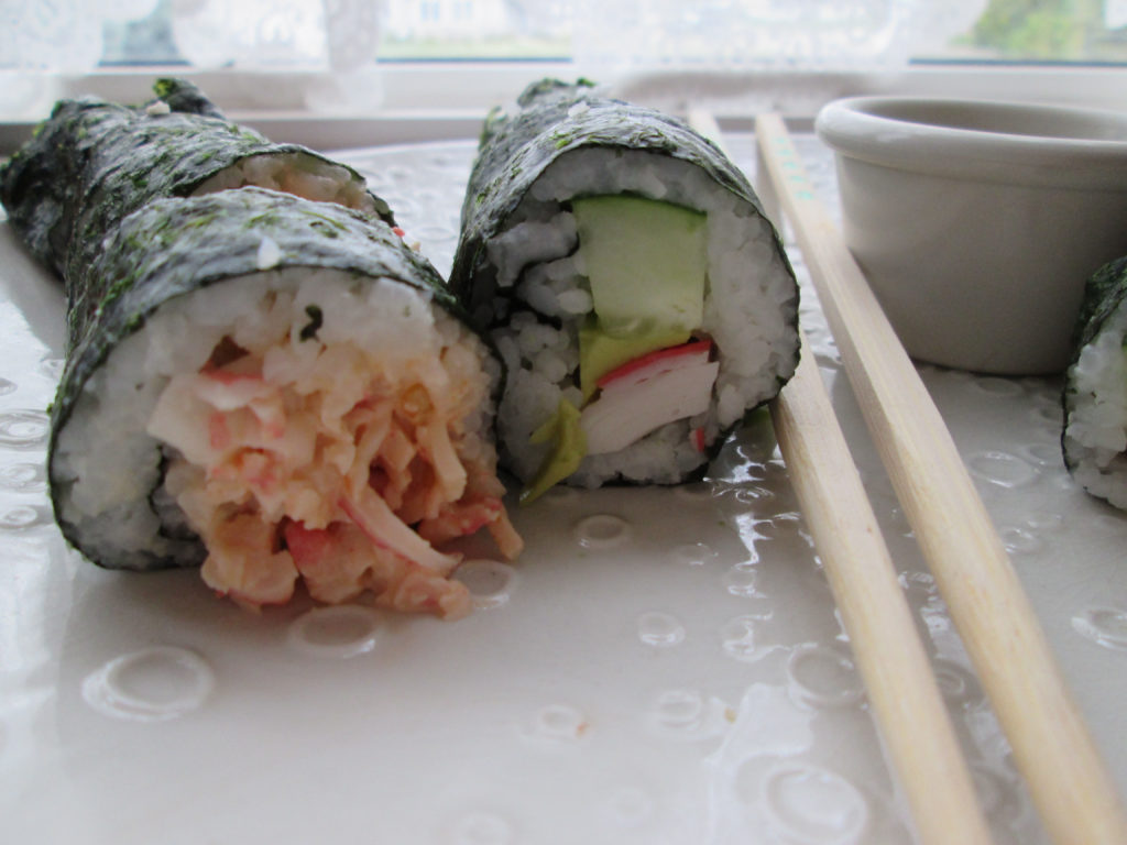 Make Your Own California Crab Roll