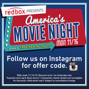 Free Movie Rental From Redbox