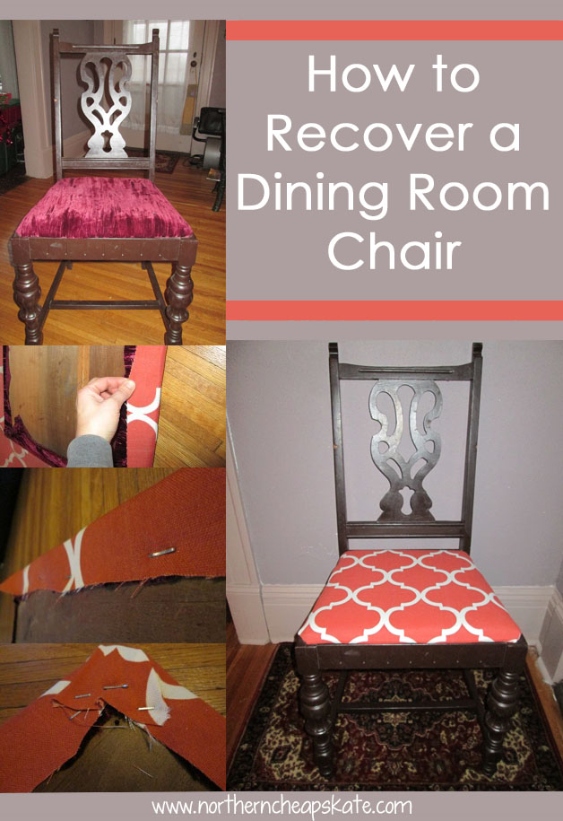 How To Recover Dining Room Chair Back