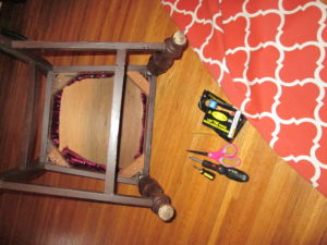 How to Recover a Dining Room Chair: The Supplies