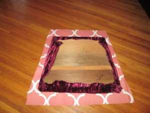 How to Recover a Dining Room Chair: Cutting the Fabric