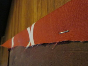 How to Recover a Dining Room Chair: Stapling the Fabric
