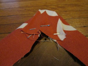 How to Recover a Dining Room Chair: Staple the corners