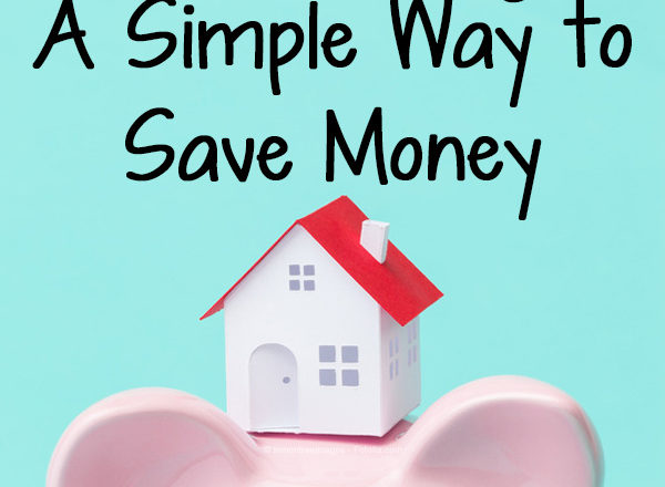 Home Sweet Savings: A Simple Way to Save Money
