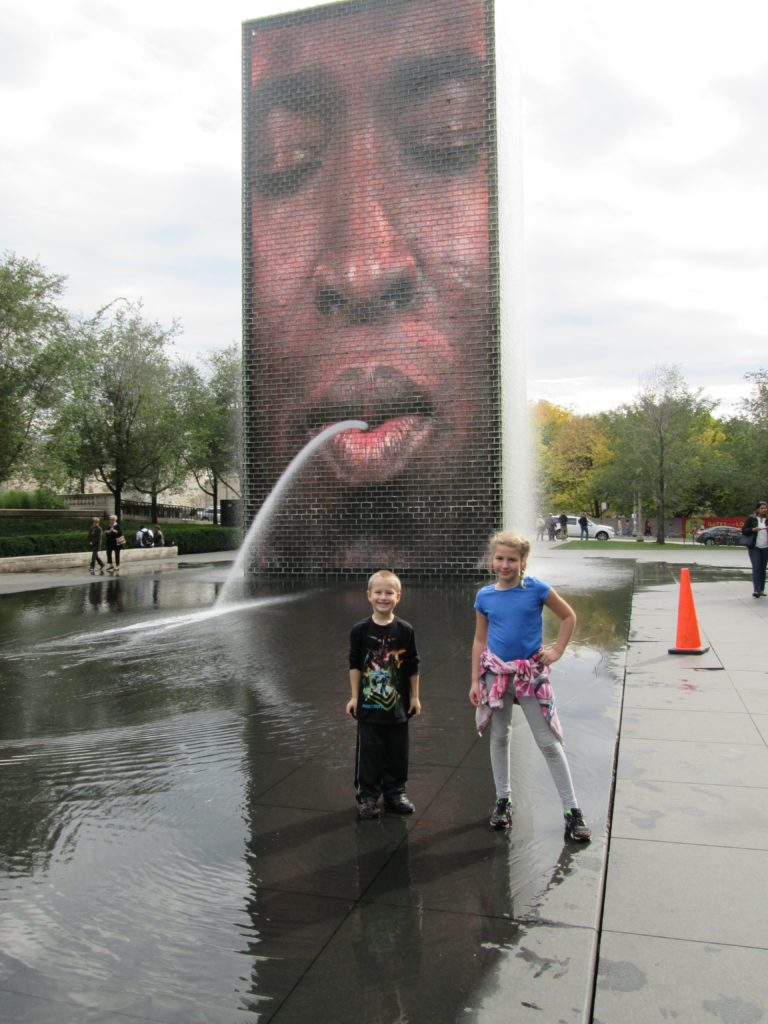 Chicago Weekend On a Budget: The Crown Fountain